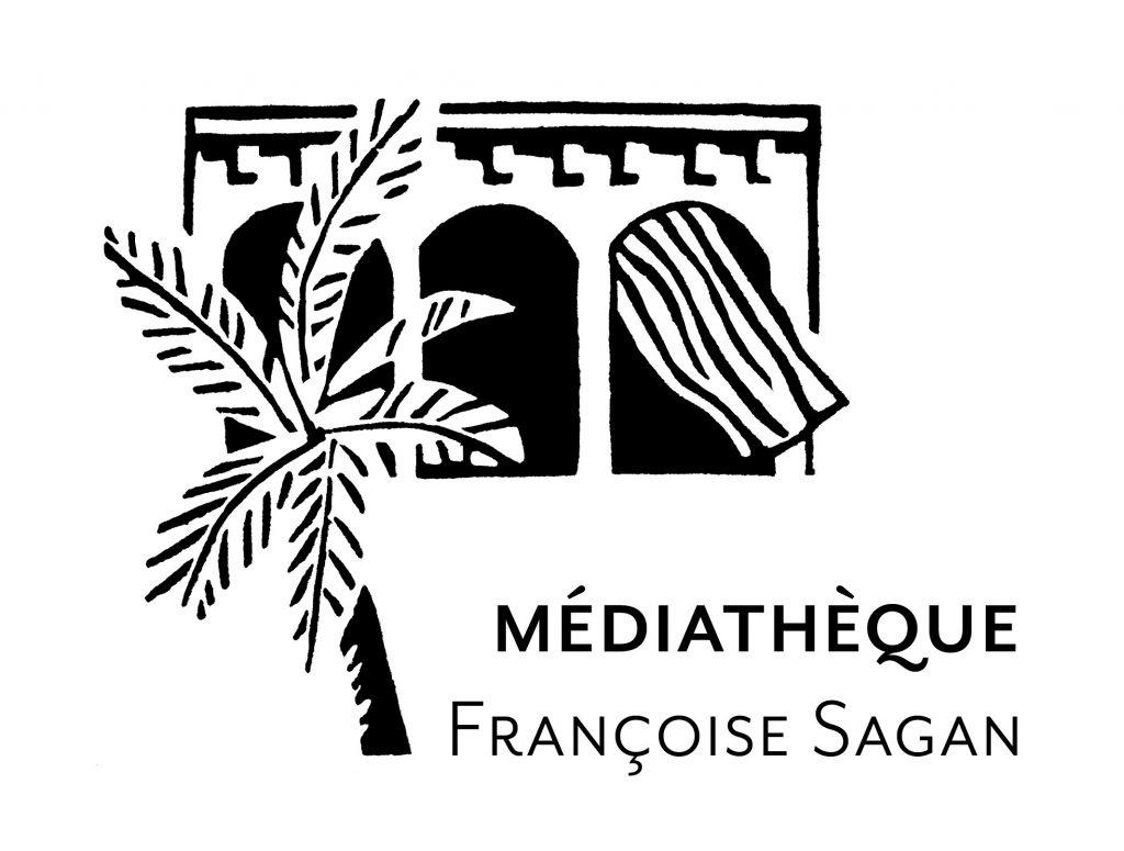 Logo médiathèque Françoise Sagan Un de nos partenaires